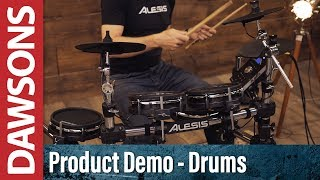 Alesis Command Mesh Electronic Drum Kit Demo