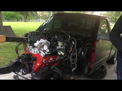 Chevy S10 Project V8 Swap (1)