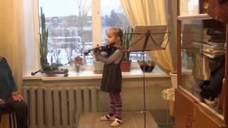 Академический концерт. 1 класс детской музыкальной школы №13 Нижнего Новгорода