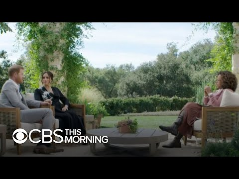 Prince Harry opens up about Princess Diana in CBS interview with Oprah