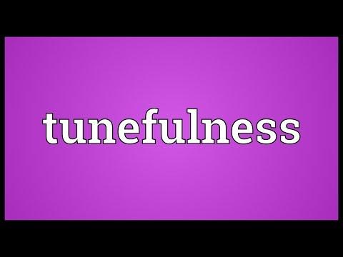 Header of tunefulness