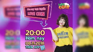 LIVESTREAM - LOVECOIN | MC UYÊN HANNA | 08.11.2018