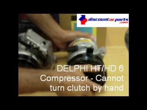 Delphi Compressor Clutch Spin