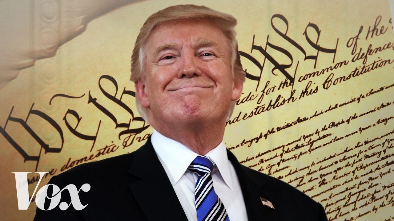 Can Trump really pardon himself?