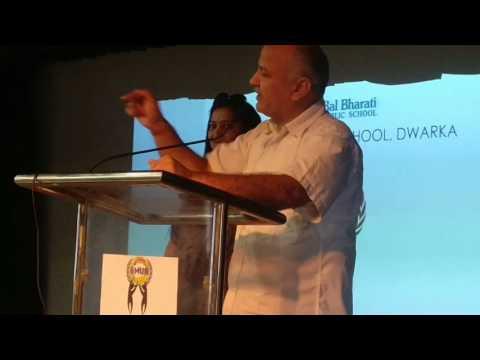 Dy CM Manish Sisodia On Critical Thinking
