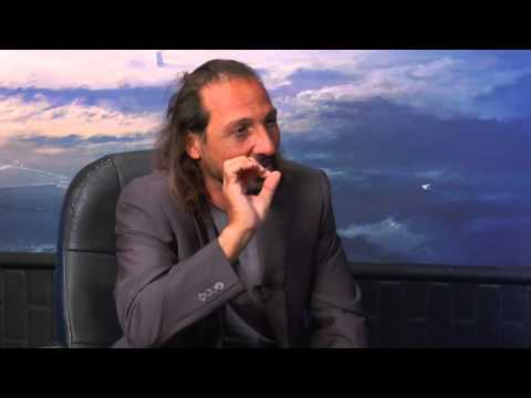 Nassim Haramein  Warp Drive, Time Travel, the Paranormal on Ron James' Bigger Questions