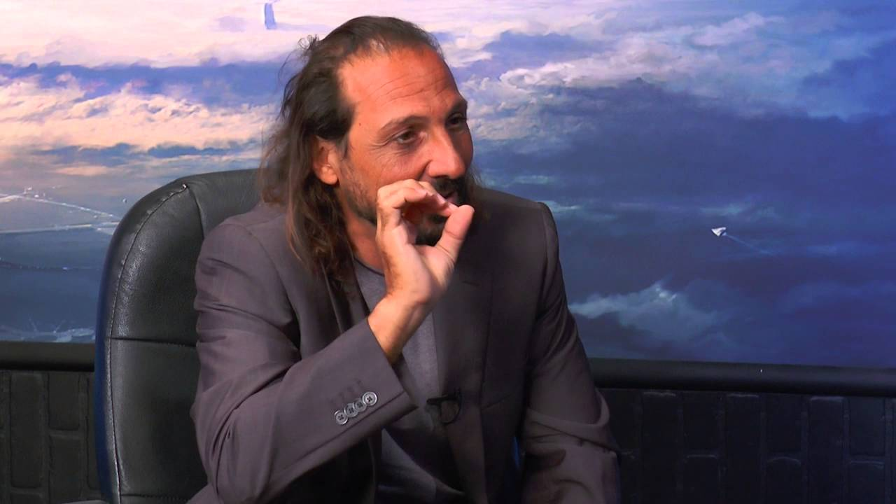 Nassim Haramein - Warp Drive, Time Travel, the Paranormal on Ron James' Bigger Questions