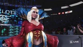 WWE 2K19 - Charlotte Flair VS Melina