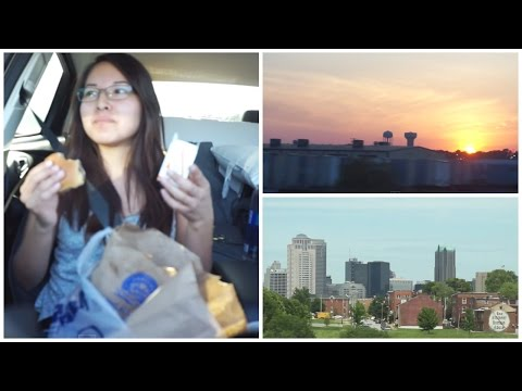 THE ONE WITH THE BURGER + ARRIVING IN COLUMBUS OHIO