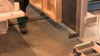 Timber Frame Houses - Soukup Assembling Line