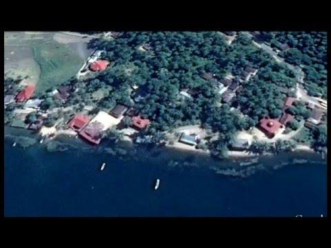 Pinggiran Danau Singkarak Lewat Udara