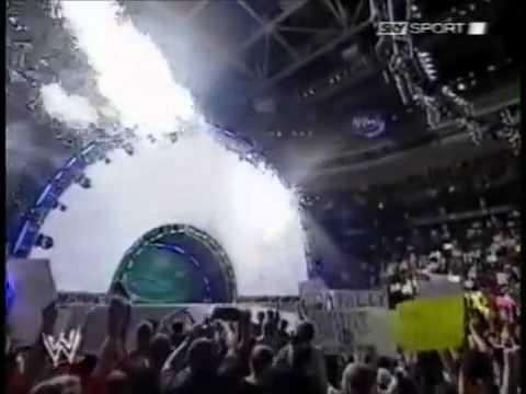 WWE SummerSlam 2006 Pyro