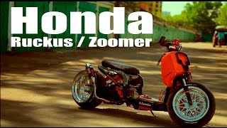скутер Honda Ruckus Zoomer от ателье LowRuckus МОТОЗОНА 2
