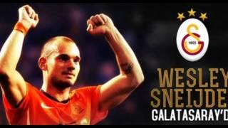 Sneijder & Terim 2013 uefa champions league galatasaray
