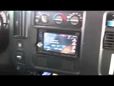Chevrolet Express Van Double Din Kenwood DNX-6140 Navigation Bluetooth Al & Ed's Autosound