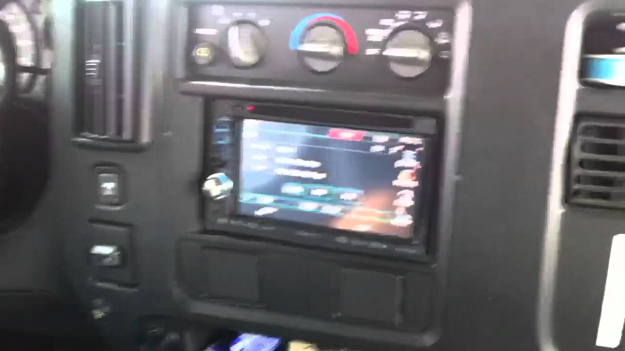 hight resolution of chevrolet express van double din kenwood dnx 6140 navigation bluetooth al ed s autosound youtube