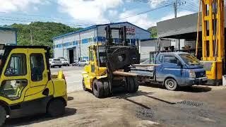 현대 7톤 중고 디젤지게차 포렉스 70DE 로테칭 캐빈…