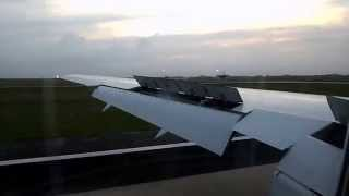 Pouso do Boeing 767-300/BoA no aeroporto Viru Viru - Bolívia