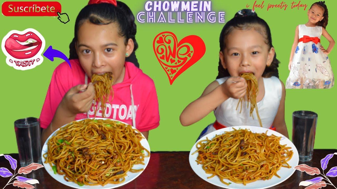 CHOWMEIN CHALLENGE  PUNISHMENT)😅😡