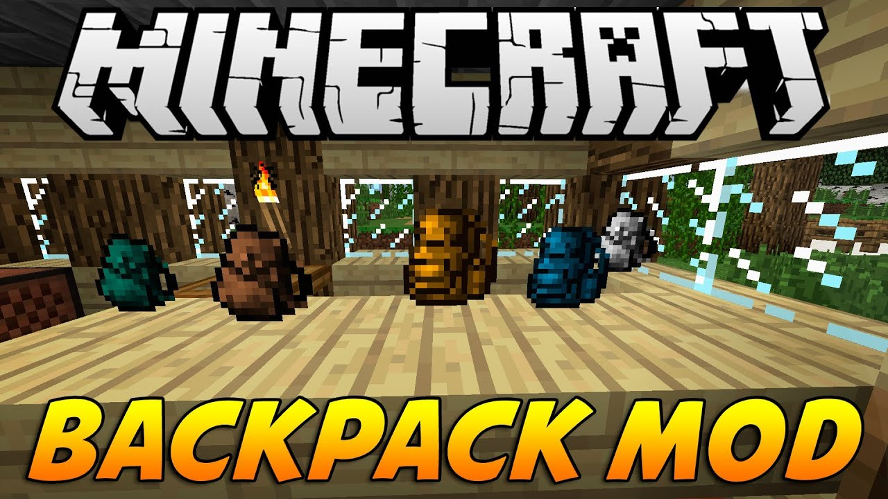 minecraft backpack mod 1 12 2