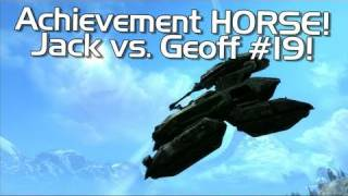 Halo: Reach - Achievement HORSE #19 (Annoying Geoff vs. Excellent Jack!) | Rooster Teeth
