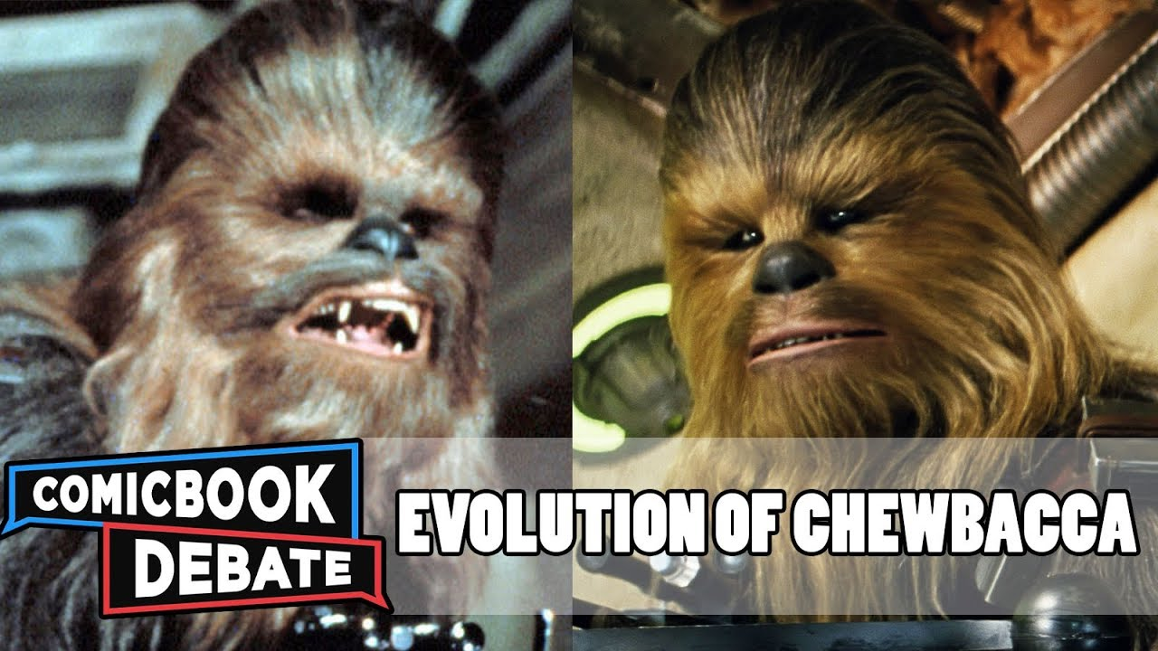 Evolution Of Chewbacca In Movies Amp Tv In 9 Minutes 2017