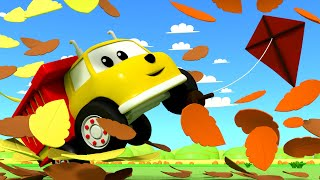 Learn Numbers With Coloful Kites - Learn with Ethan the Dump Truck 👶 Educational Cartoon