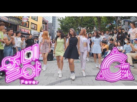 [KPOP IN PUBLIC] GFRIEND (여자친구) - 'FEVER' (열대야) Full Cover Dance 커버댄스 4K (6인 버전)