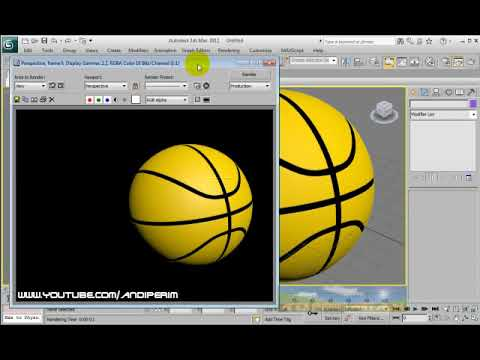 3ds Max Basket Ball Tutorial
