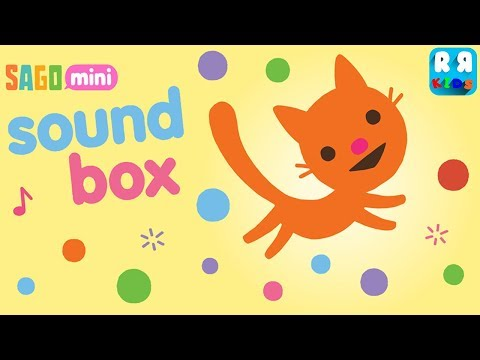 Sago Mini Sound Box - Best Music App for Baby and Kids