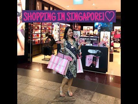Singapore vlog - shopping destinations in Singapore