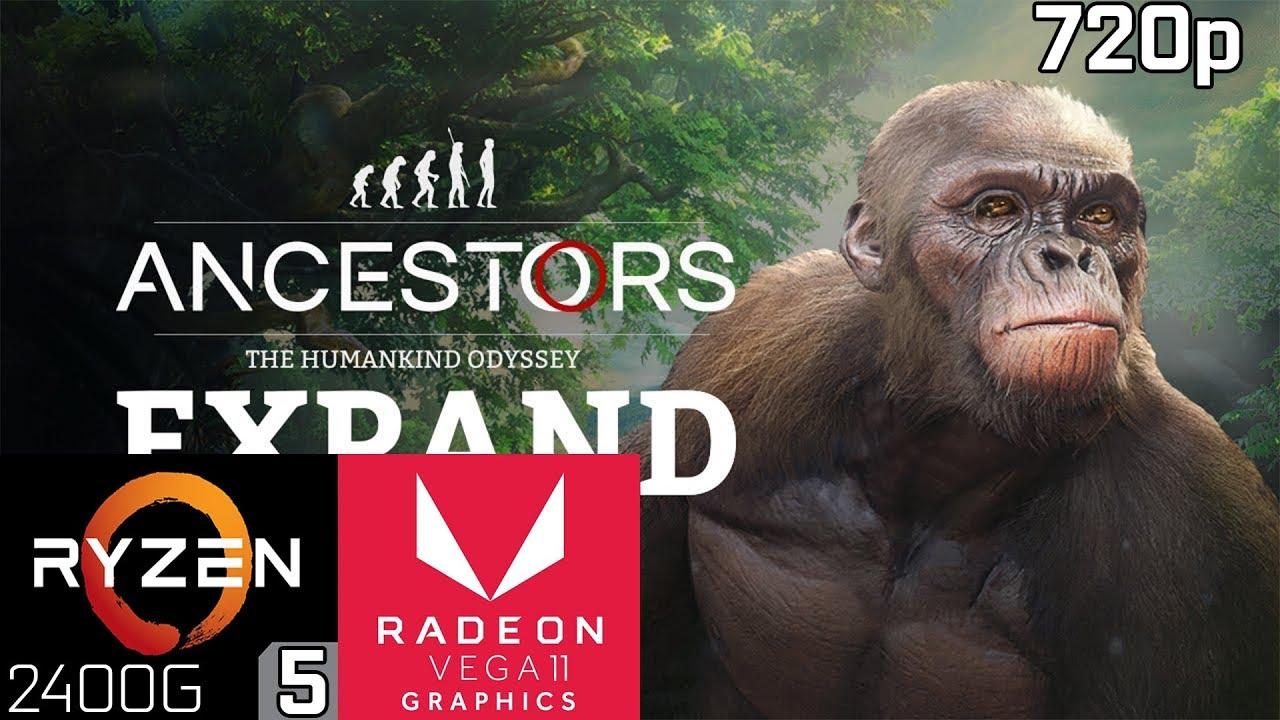 Ancestors The Humankind Odyssey Ryzen 5 2400g Vega 11 8gb Ram Youtube