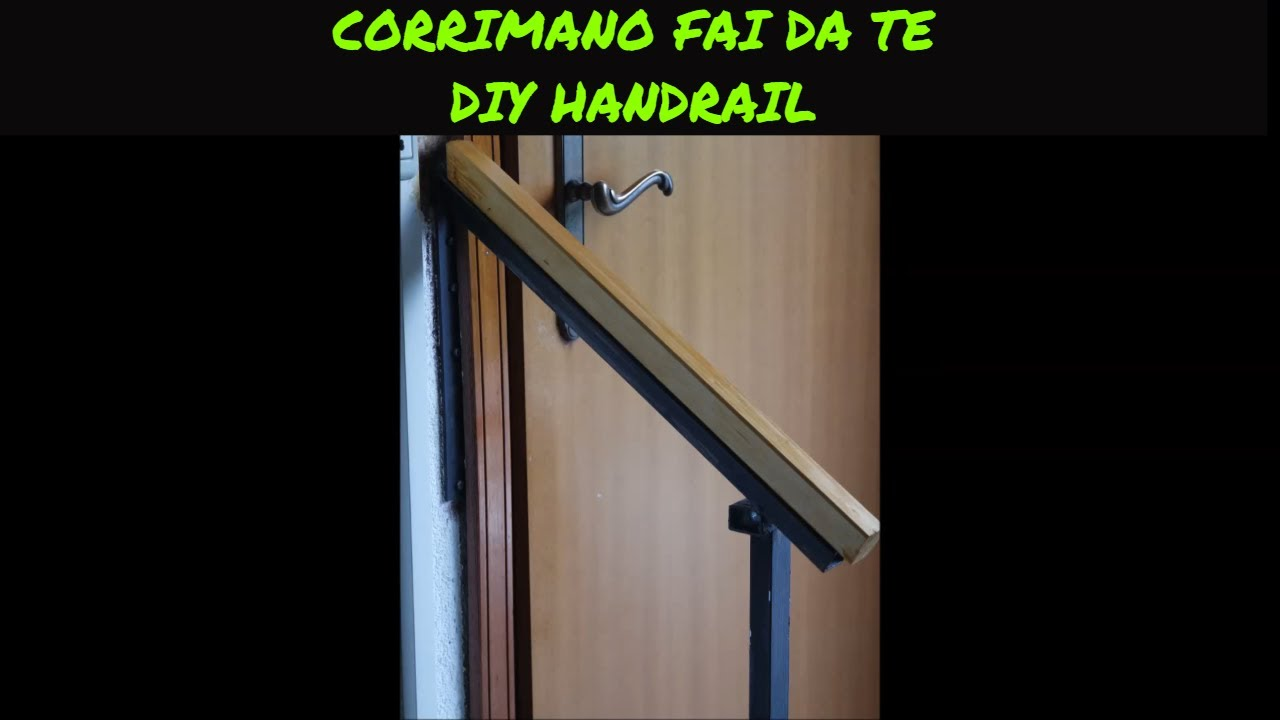 Ringhiera Scala Fai Da Te tutorial costruire un corrimano fai da te ( how to build a home made  handrail )