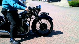 1932 Rudge Special Video