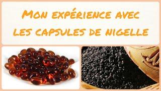 Mon expérience avec les capsules d'huile végétale de nigelle