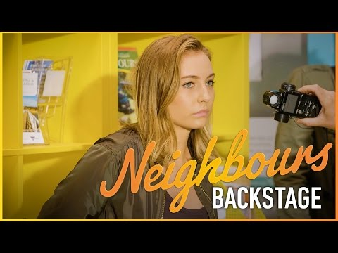 Neighbours Backstage - Backpackers Crash