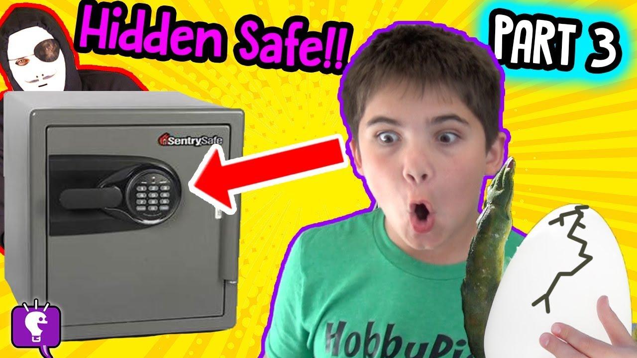 FOUND HIDDEN SAFE! Game Master Mystery NEST Adventure Part 3