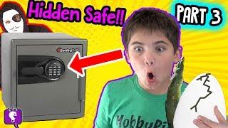 SECRET SAFE with $10,000! Mystery Nest Adventure with HobbyKidsTV