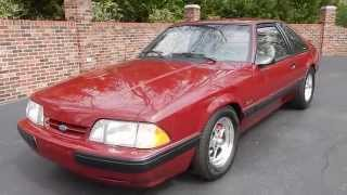1989 Mustang LX 5.0 for sale Old Town Automobile in Maryland