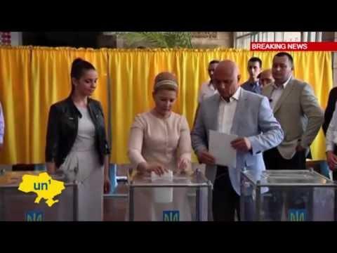 Poroshenko and Tymoshenko vote in Ukrainian Presidential Election: Ukraine seeks way out of crisis