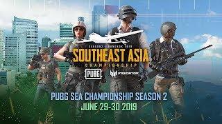 ???? DAY 1: PUBG SEA Championship Season 2