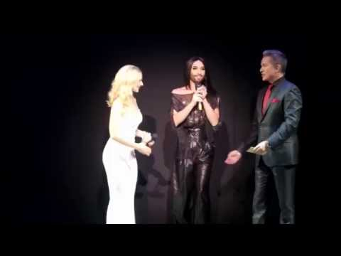 Conchita Wurst - Gala 'Wider die Gewalt' 2015 - Ronacher, Wien (Part 1)