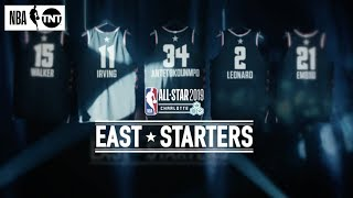 Eastern Conference All-Star Starters Revealed | NBA on TNT