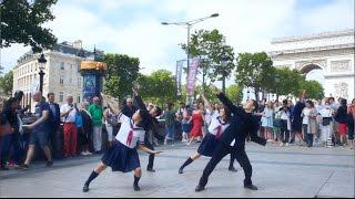 ポカリスエット WEB動画|振り付け師が住んでいるパリで、ポカリのダンスをガチで踊ってみた。
