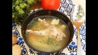 Суп из перепелок!!!