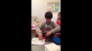 子供が日本語と英語で紹介します。