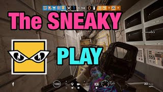 The SNEAKY IQ Play - Rainbow Six Siege