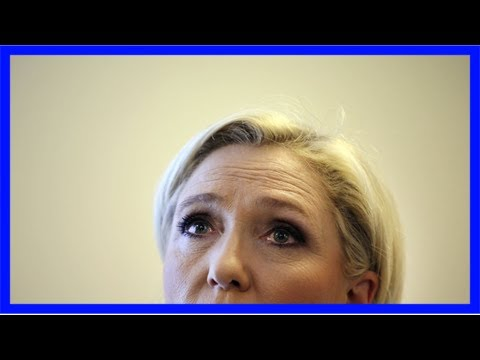French far-right leader says party's bank shut its accounts