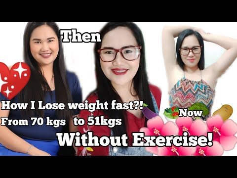 HOW I LOST WEIGHT FAST WITHOUT EXERCISE? I LOST 19 KGS|HEALTHY DIET|FROM 70KGS DOWN TO 51KGS| KETO D