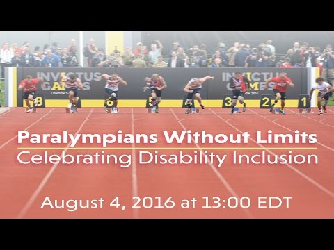 Paralympians Without Limits: Celebrating Disability Inclusion